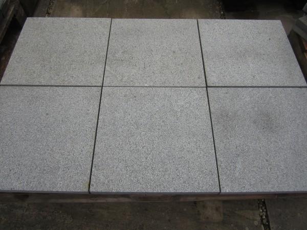 Granit Windsor Dark Bodenplatten 40/40/3 cm