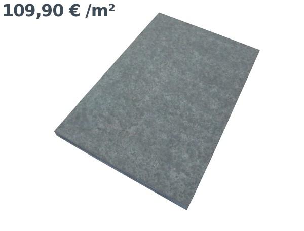 Basalt Pure Bodenplatten 60/40/3 cm