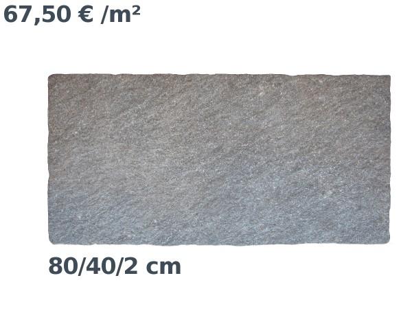 Steinzeit Premium Keramik Porphyr Bodenplatte