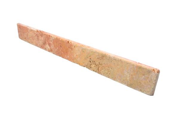 Travertin Sockel Rot 35-60 / 7 / 1,5 cm