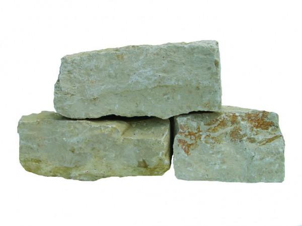 Kalkstein Crema Romano Classic, Mauerstein, nachgerichtet