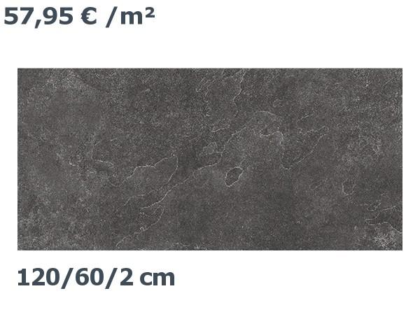 Steinzeit Premium Keramik Balzano 10 Bodenplatte