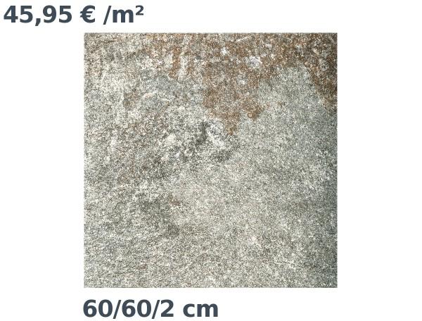 Steinzeit Premium Keramik Balzano 16 Bodenplatte