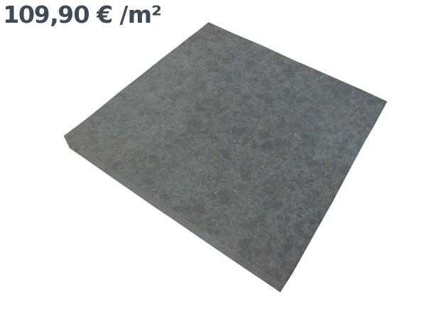 Basalt Pure Bodenplatten 40/40/3 cm