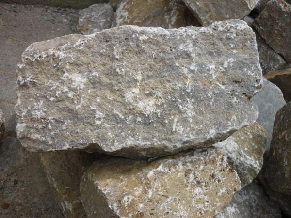 Muschelkalk Mauerstein, nachgerichtet
