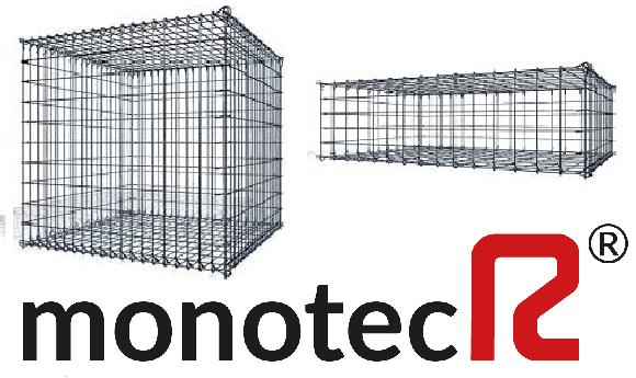 MonotecR® Steinkorb 100/50/100 cm Ø 5 mm MW 5/10 cm