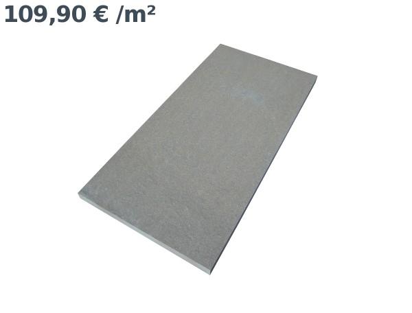 Grauwacke Accio Bodenplatten 80/40/3 cm