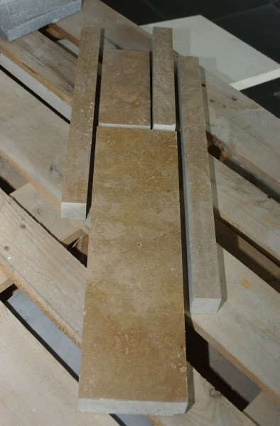 Travertin Noce Verblender Stärke 4cm - 9 m²
