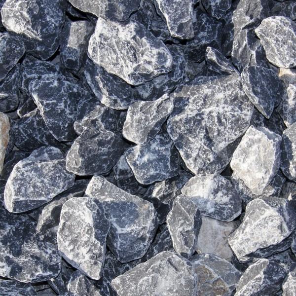 Kalkstein grau Gabionenschotter